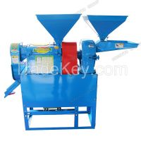 Small portable rice milling machine 2.2kw manufacturer