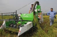 Factory Direct Mini Rice Harvester 20HP 4LZ-0.8