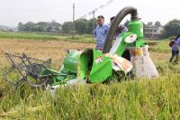 Rice Combine Harvester 20HP 4LZ-1.0