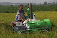 Rice Combine Harvester 20HP 4LZ-1.0