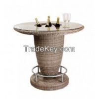 Luxor Outdoor Rattan Commercial Bar Unit From Posh Garden Furniture
