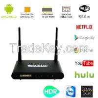 Amlogic S912 Octa-Core HDR media player Android 6.0 2GB+8/16GB Dual Ba