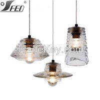 Tom Dixon Pressed Glass lamp master lighting for ramada