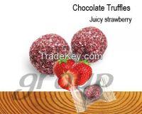 Chocolate Truffles Juicy Strawberry