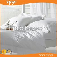 hotel linens 100%cotton white bedding sets