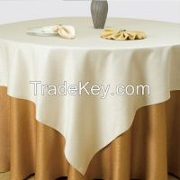 Polyester Jacquard hotel Table cloth wedding table cover