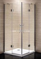 Frameless chrome shower enclosure with good quality