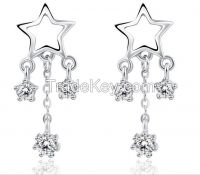 Fashion star chandelier earring OEM