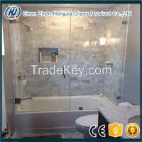 tempered glass door for shower room
