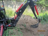 HCN brand 0301 series hydraulic backhoe attachment for skid steer  loaders