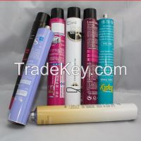 Collapsible Aluminum Tube For Cometics, Hair Dye Products Packaging Tube 100g