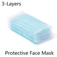 Disposable Face Mask 3-Layer Ear Loop Anti-Bacterial Dust Safety Prote