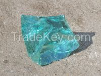 color crushed glass