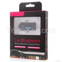 Car/Home Bluetooth Music Receiver, Car Bluetooth Hand Free Kit witt Bluetooth 4.0