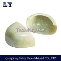 Non-Metal Fiberglass Toe Cap Safety Shoes Composite Toe Cap For Protecting Toes