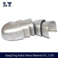 anti puncture aluminum toe cap with rubber strip for labor shoes