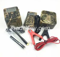 Duck sound mp3 for hunting with remote and timer