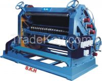 corrugated box machine,reel to sheet cutting machine,4 bar rotary cutting and creasing machine,eccentric slotting machine,board cutter,platen die cutting machine,punching machine,Box stitching machine