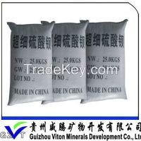 high whiteness and barium content  Barium Sulfate