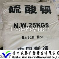 Barium Sulfate made in china with baso4 content 98