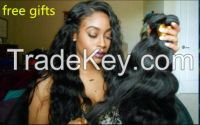 hot 8A Brazilian Hair Human Hair Weave Virgin Brazilian Hair Bundles Unprocessed Body Wave Hair