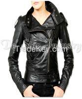 Women Fashion Leather Jackets