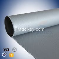silicone coated fiberglass fabric for thermal insulation