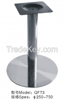 Round Base Metal Table Legs For Restaurant