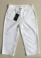 ladys jeans high quality OEM for big garments brands