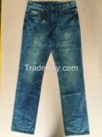 mens jeans high quality OEM for big garments brands