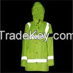 Reflective Rain coat, Rain-proof, Security Equipmengt