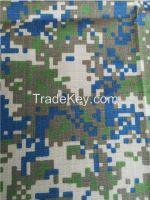 T/C  Polyester &Cotton composite Rip stop Digital Camouflage fabric