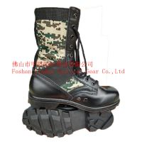 Military canvos/ oxford digital camo. boot, Combat boot