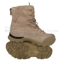 Tan color Combat boot, Jungle boot, Training boot, safety boot,short boot