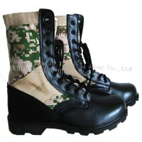 Military Jungle Boot, canvas boot, oxford boot, safety boot