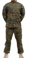 American military ACU T/C digital woodland waterproof Tactical suit