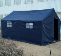 Military disaster relief tent, Blue refugee tent�¯�¼ï¿½double layer tent