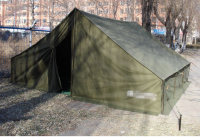 Military/Army waterproof tent, Small triangle pole-standing tent