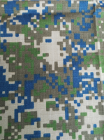Military Polyester& Cotton blending Rip stop Camouflage Fabric