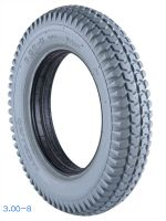 3.00-8 Power Wheelchair PU filled Rubber Tires