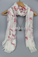 Top Fashion fabulous printed Lady scarf