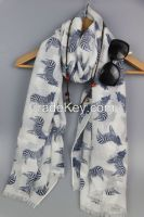 New arrival  Fashion fabulous printed Lady scarf
