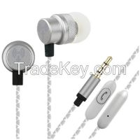 TechMate Metal EarPhone with Mic