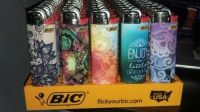 Quality customizedJ25, J26 Premium Grade Big Bic Lighters Disposable Or Refillable Whole Sale