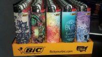 Quality customizedJ25, J26 Premium Grade Big Bic Lighters Disposable Or Refillable Whole Sale