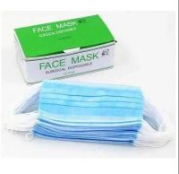 Buy surgical disposable face mask non woven 3ply face mask