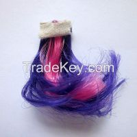 Custom rubber my little pony mini plastic horses plait toy parts, plas