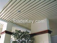 S-shape Strip Acoustical Perforated Aluminum Ceiling Tiles