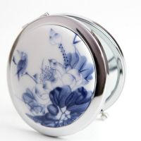 Blue and White Porcelain Makeup Mirrors