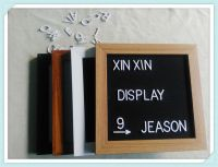 China popular felt letter board with insert plastic letters